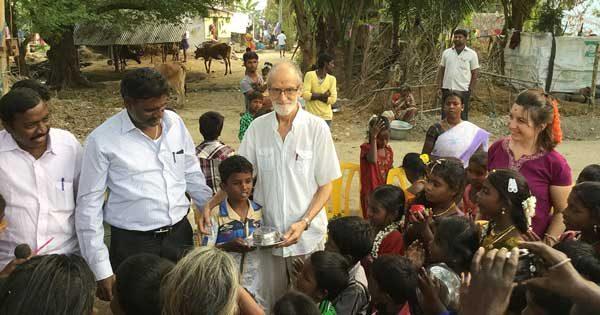 Rosario y Esteve Humet en la India