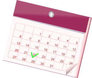 Calendario fechas importantes